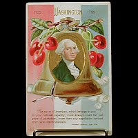 Antique Postcard, George Washington