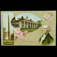 Antique George Washington Postcard