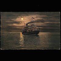 Antique Ship Transportation Post Card, Steamer Christopher Columbus, Annenberg Publisher