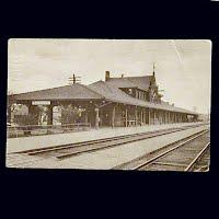 1917 Antique Train Depot Eau Claire Wisconsin