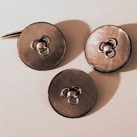 Antique Mother-of-Pearl and Metal Buttons
