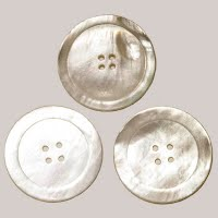 Antique Large Mother-of-Pearl Shell Buttons