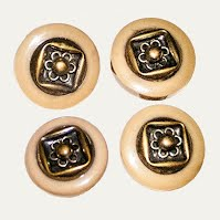 Antique Metal and plastic Buttons