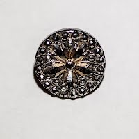 Antique Round Metal Buttons (4)
