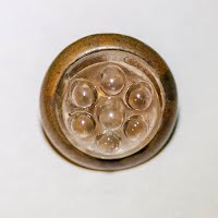 Antique Metal and other material Button