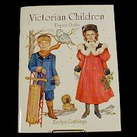 Vintage 1996 Victorian Children Paper Dolls, General Publishing Co