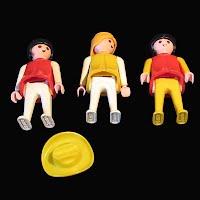 Vintage Geobra Dollhouse Figures
