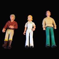Vintage Fisher Price Adventure Series People