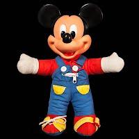 Vintage Mickey Mouse Teach Me Doll
