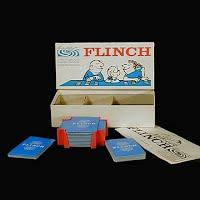Vintage Parker Brothers Flinch Card Game 1963