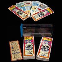 Vintage Preschool Brain Quest Cards