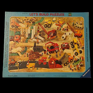 Vintage Ravensburger Lets Build 1978 Puzzle