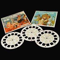 Vintage 1957 Wizard of Oz Blisterpack, view master reels (3)