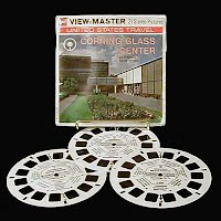Vintage View Master Reels, Corning Glass Center, 1973