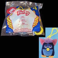 McDonalds 2000 Toy Furby Owl unopened package