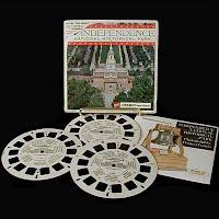 Vintage View Master Reels, Independence National Historical Park Blisterpack (3)