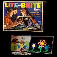 Vintage Lite Brite 1969 Hasbro