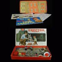 Antique 1955 Gilbert Erector Set
