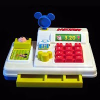 Vintage Mickey Mouse Cash Register