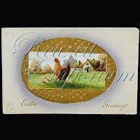 Antique German Easter Postcard