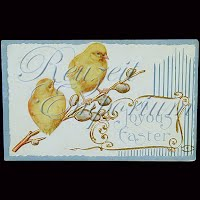 Antique Easter Postcards 1909