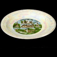 Antique Gettysburg Souvenir Plate, 1863