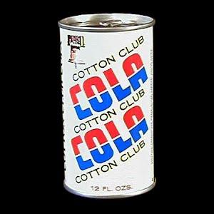 Vintage Cotton Club Cola Bank, Cotton Club Bottling 1977