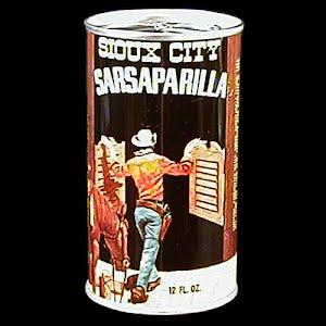 Vintage Sioux City Sarsaparilla Can, 1977 White Rock Corp Brooklyn NY