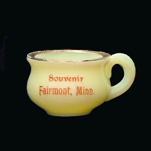 Antique  Novelty Tiny Pot, Souvenir of Fairmont, Minn