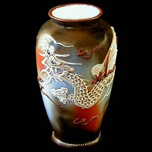 Antique Dragon Vase, Takito Company, Japan