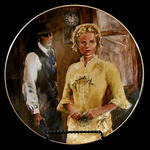Vintage Cinema Classics, High Noon Porcelain Plate, 1952