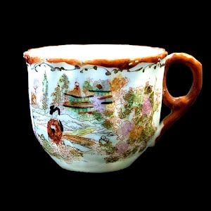 Antique Japanese Porcelain Cup