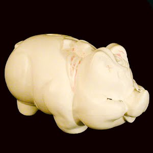 Vintage Shawnee Large Pig Bank
