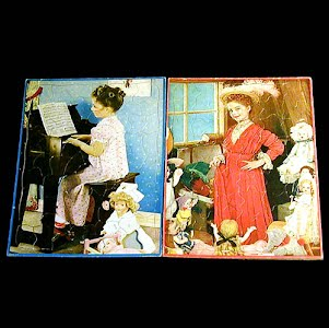 Walzer Puzzle Childs Tray Puzzle, Onward Christian Soldiers and Dress Up
