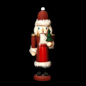 Vintage Wooden Santa Nutcracker