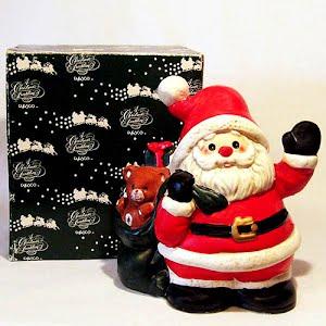Vintage Musical Santa plays Santa Claus is Coming to Town