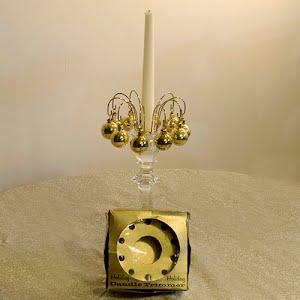 Vintage Gold Metal Candle Trimmer