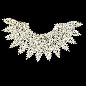 Antique Handmade Lace Dress Collar