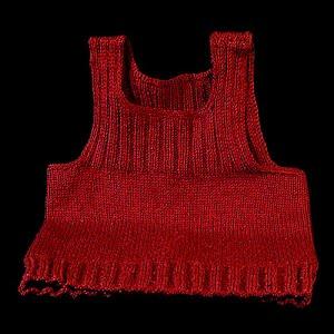 Variegated maroon Sweater Vest