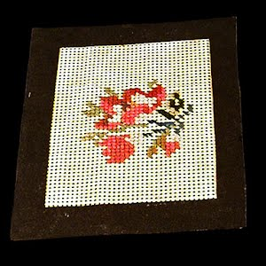 Antique Sewing Needlework Card
