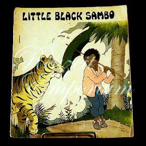 Little Black Sambo Book, Black Americana Negro Book