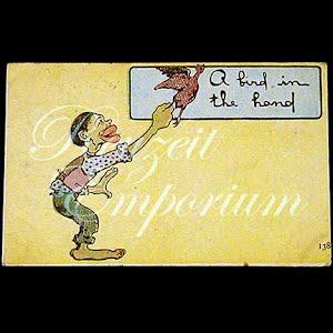 Black Americana Negro Antique Cartoon Postcard