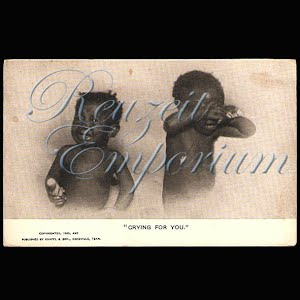Black Americana Negro Antique Real Photo Postcard