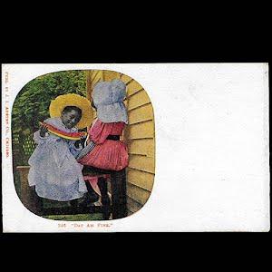 Black Americana Negro postcard