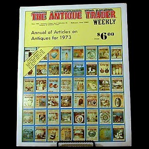 1973 Antique Trader Annual of Articles