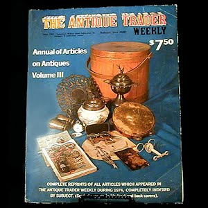 1974 Antique Trader Annual of Articles