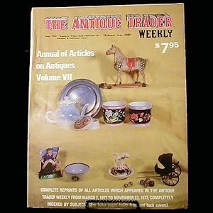 1977 Antique Trader Annual of Articles