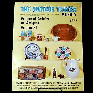 1981 Antique Trader Annual of Articles