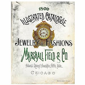1896 Marshall Fields Catalog Jewelry and European Fashion