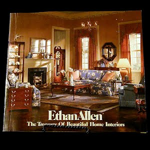 1975 Ethan Allen the Treasury of Beautiful Home Interiors